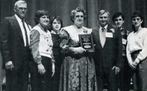 Weber family in 1989