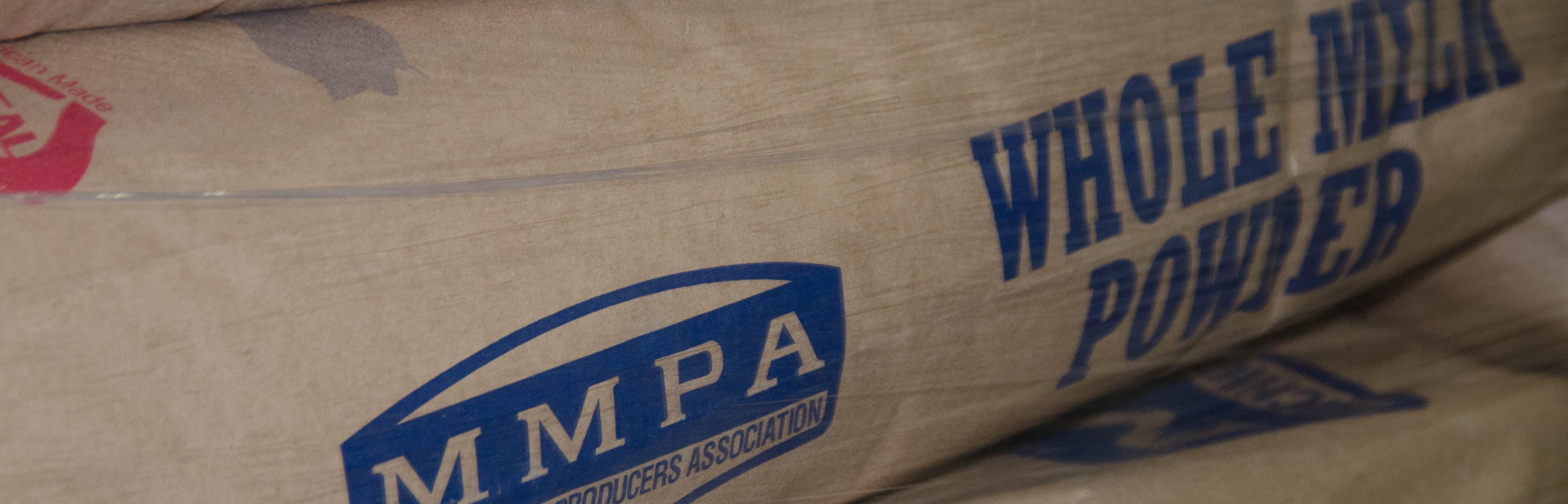 MMPA bag of milk powder