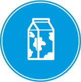 powdered milk icon