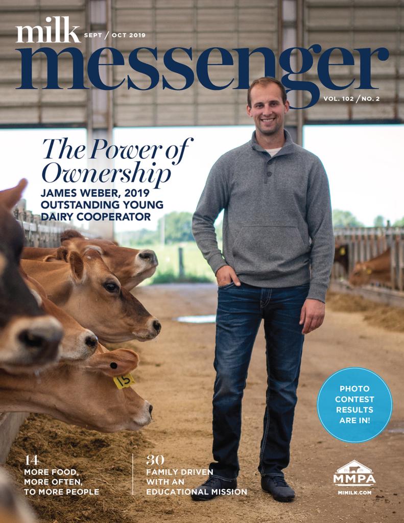 Cover of the Sept/Oct Milk Messenger.